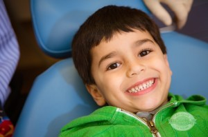 child patient smiling at Affiliated Pediatric Dentistry of NEPA