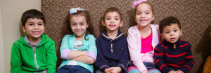 Group of kids smiling at Affiliated Pediatric Dentistry of NEPA
